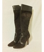 Womens COLE HAAN Leather Mid Calf  Boots High Heels Size 9B - $74.25