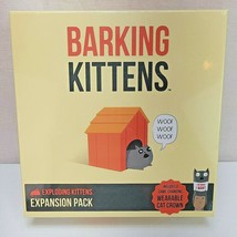 Barking Kittens Exploding Kittens Expansion Pack Game New - $28.49