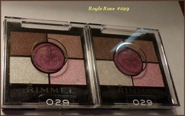 Lot 2 Rimmel Glam Eyes Hd Quad Eye Shadow Palette Free Ship + Free Gift #029 - $9.75