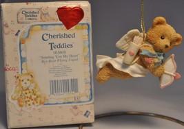 Cherished Teddies - Sending You My Heart - 103608 - Bear Flying Cupid - $11.18