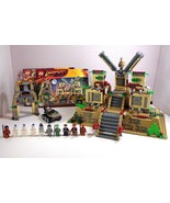 Lego Indiana Jones Set Temple of the Crystal Skull 7627 Complete w/ 10 M... - $168.25