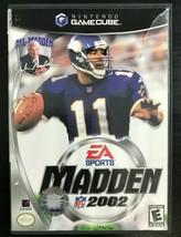 Madden NFL 2002 (Nintendo GameCube, 2001)  Complete - $4.99