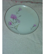"Royal Court Fine China Pink Carnation Bread & Butter Plate 6"" Japan - $9.00"