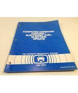1983 Chevrolet Pro Tech Computer Command Control Service Manual Blue Boo... - $9.99