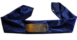 Naruto Jump Festa 2002 Leaf Village Metal Plate Anime Headband * Cosplay - $14.88