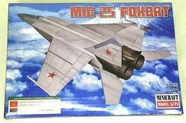 Minicraft 1:144 MIG 25 Foxbat USSR Plastic Model Kit 14654 - $17.50