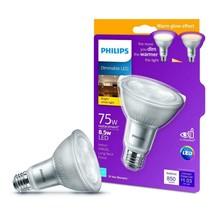 Philips LED Dimmable Long Neck Flood Light Bulb PAR30L 850-Lumen Bright ... - $10.69