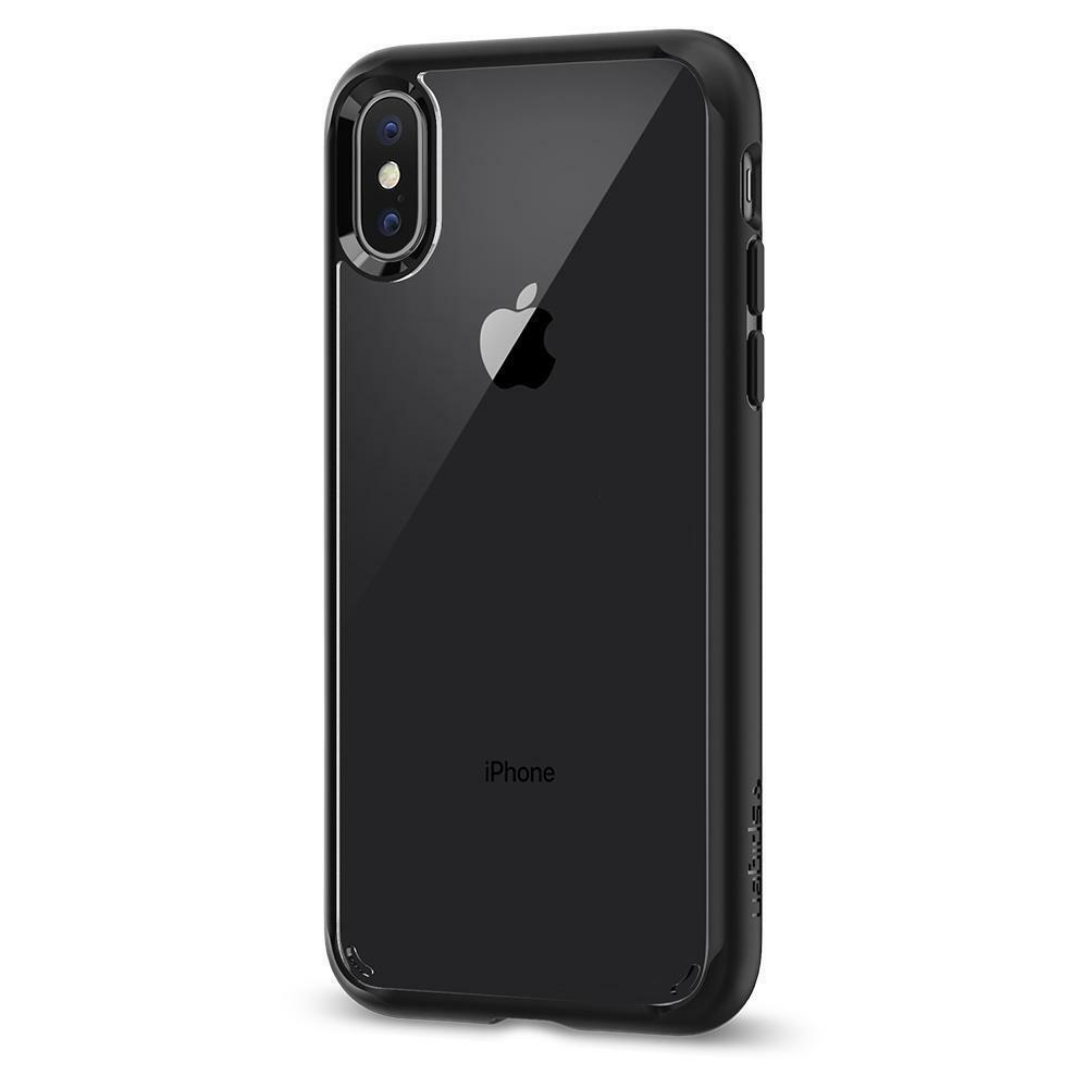 Spigen iPhone X Case Ultra Hybrid Matte Black