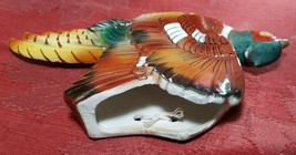 Vintage Ceramic Pheasant Wall Pocket Planter image 2