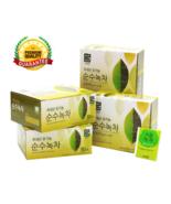 Nokchawon Organic Green Tea 1.2g x 50T x 4 Korea Food - $59.41