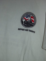 Support Our Troops Pearl Harbor Hawaii T-Shirt Size Med Battleship Missouri - $19.00