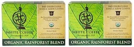 White Coffee Organic Rainforest Blend K Cups 2 Box Pack - $28.66