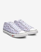 Womens Converse x Hello Kitty CTAS Ox 163916F White/Fiery Red/Prism Pink  Size 6 - $55.98