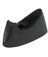 Universal Desktop Tape Dispenser Black UNV15001 Case of 24 See Notes - $48.35