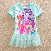My Little Pony baby girl skirt dress summer clothes children clothing tutu - $7.00