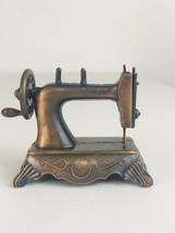 Vintage DieCast Miniature Replica Sewing Machine Pencil Sharpener Antiqu... - $5.94