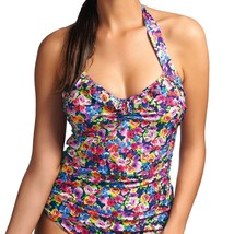 Freya Summer AS3714 W Underwired Halter Tankini Top - $41.19
