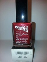 "Avon Mosaic Effects Top Coat ""Red Lava"" - $4.25"