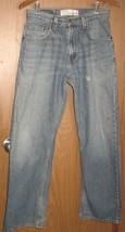 Mens 29x32 Levi's 369 Loose & Straight Vintage Wash Distressed Denim Jeans - $361,48 MXN