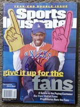 Chris Rock Signed Sports Illustrated Magazine - COA Signatures.com - $74.99