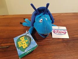 "A Bug's Life Beetle Dim Mini Plush Bean Bag The Disney Store 7"" (NEW) - $9.85"