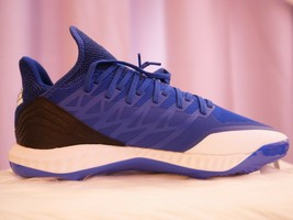 Adidas Icon Bounce Hybrid Men's Metal Baseball Royal Blue Size 12 Shoes - $42.54