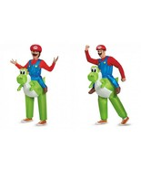 Disguise Super Mario Riding Yoshi Adult Child One Size Halloween Costume... - $57.10