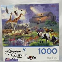 CraZart Jigsaw Puzzle 1000 piece Abraham Hunter Artist Noah's Ark - $26.07