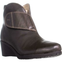 Jambu Perla Wedge Ankle Boots, Brown, 9.5 US / 40.5 EU - $55.67