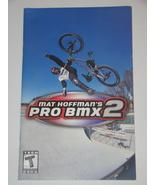 Playstation 2 - MAT HOFFMAN'S PRO BMX 2 (Replacement Manual) - $8.00