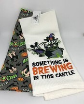 Disney Parks Halloween Something is Brewing in this Castle Kitchen Towel New Tag - $28.45