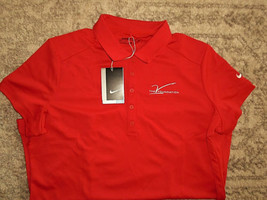 Nike Womens The Victory Foundation Over Cancer Jim Valvano Polo Golf Nc State - $10.99