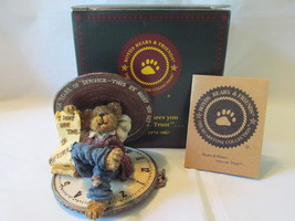 """Boyds Bears """"Hardley Hasslefree...Chairman of the Bored"""", 2001, Box Incl... - $21.99"""