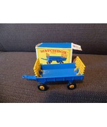 Matchbox Lesney No 40 Hay Trailer with Box - $18.05