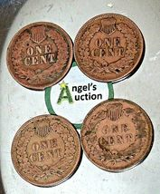 Indian Head Penny 1903, 1905, 1906 and 1907 AA20-CNP2153 Antique image 9