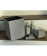 Bella Lux Bathroom Accessory Full Rhinestone Crystal Set of 5.Pieces ~ N... - $199.99