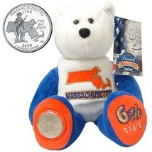 Limited Treasures Coin Bear Massachusetts NWT 6th State New with Tags - $11.13