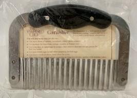 Pampered Chef GARNISHER 4428 Crinkle Cutter Slicer Stainless Steel NEW S... - $20.27 CAD