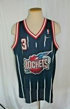 Vintage Nike Swingman Steven Francis #3 Houston Rockets Jersey Sz XL - $71.23