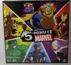 Spin Master Games 5 Minute Marvel Cooperative Card Game for Kids Aged 8 & Up - $19.79
