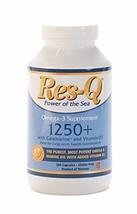 Res-Q 1250+ Omega-3 & Vitamin D3 200 Capsules - $43.50