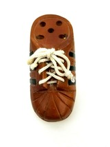 """Adidas Shoe Pen or Pencil Holder Wood with Laces 6"""" x 2.5"""" x 2.25"""" Pre-O... - £11.97 GBP"""