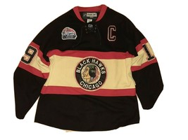 Chicago Blackhawks Reebok 2009 Winter Classic Johnathan Toews Jersey Sz 52 (XL) - $142.45