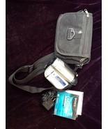 Sony Handycam DCR-DVD650 Mini DVD Hybrid Camcorder 60x Optical Zoom With... - $34.65