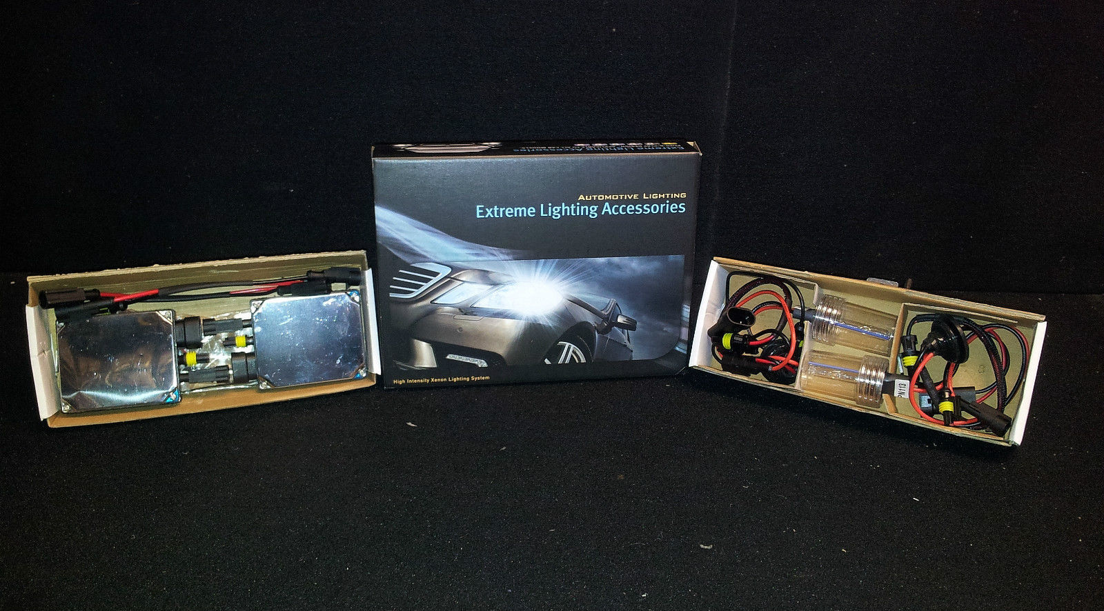 Race Sport Vision Extreme 9007 6K Crystal White HID KIT
