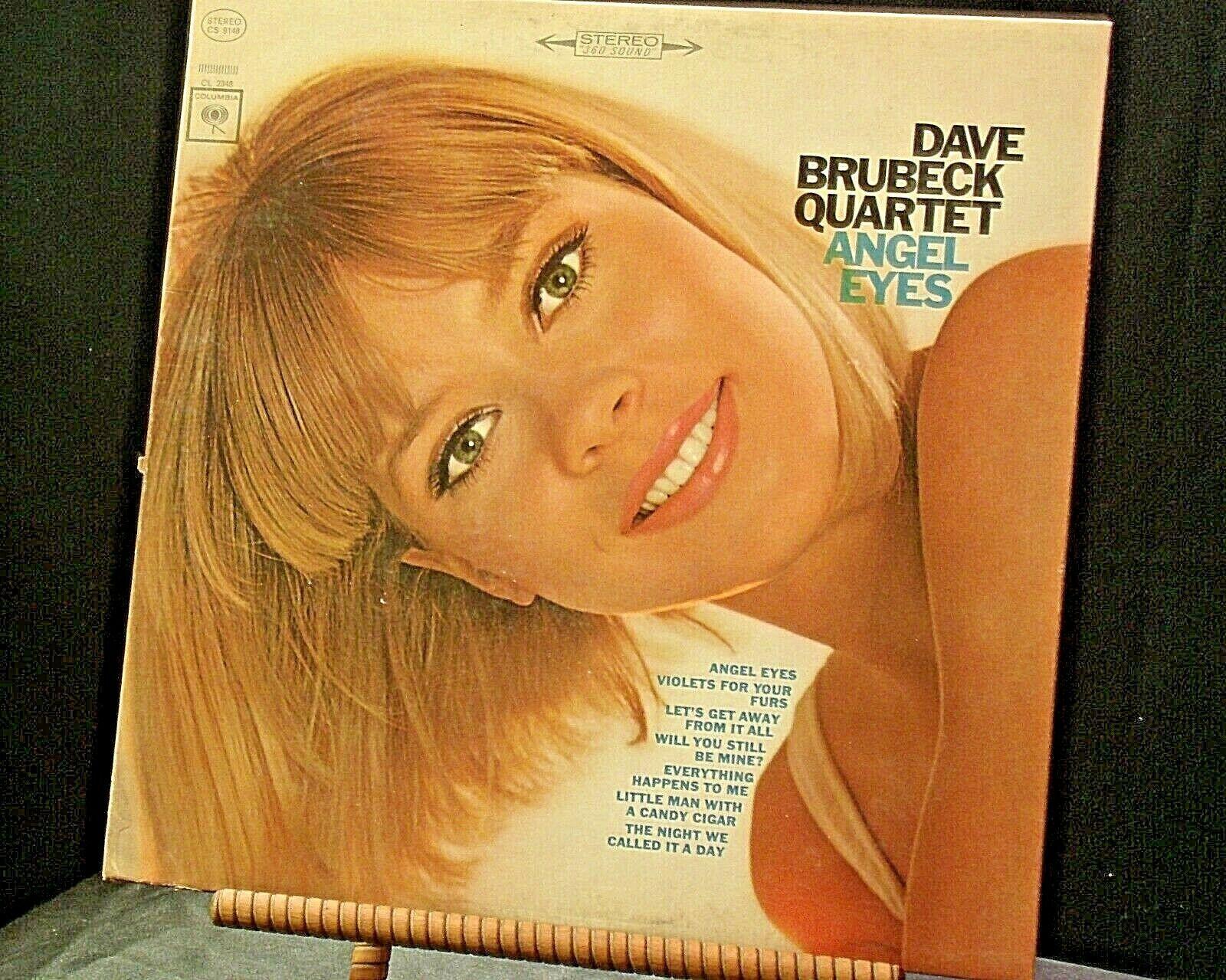 Dave Brubeck Quartet Angel Eyes  AA20-RC2116 Vintage