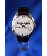 Vintage Swiss Stainless Steel Round Automatic Presentation Wrist Watch 2... - $110.00