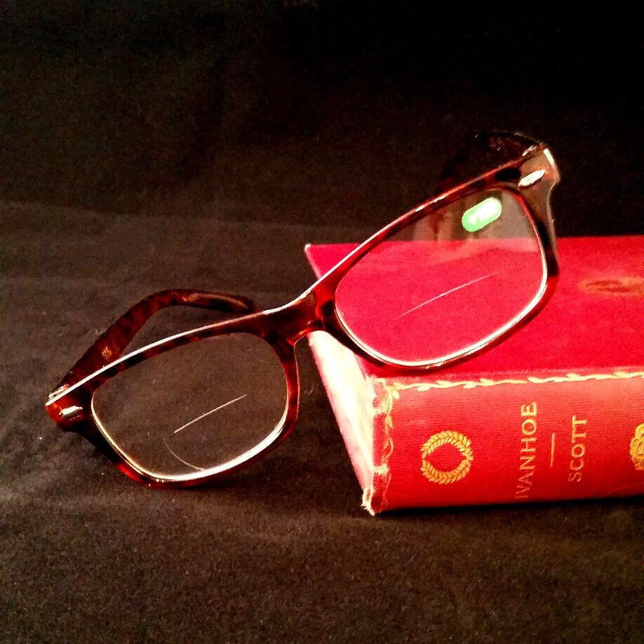 Harvard Retro Tortoise Reading Glasses Readers Brown Bifocal