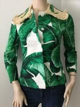 NEW Dolce & Gabbana Banana/ Palm Leaf Print Jacket (Size 38)-$5000.00 - $349.95