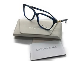 Michael Kors Eyeglass Frames WOMENS MK8018 Sabina 3109 Blue Marble 54MM - $77.57